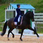 Fanny à cheval